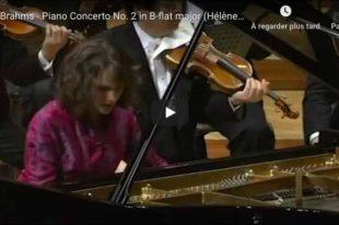 Brahms - Piano Concerto No 2 - Grimaud, Piano
