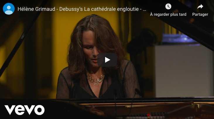 Debussy - La Cathédrale Engloutie - Grimaud, Piano