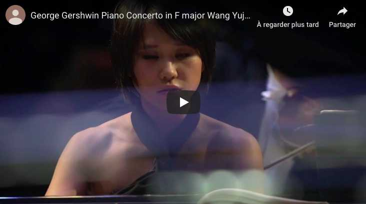George Gershwin – Piano Concerto in F Major - Wang, Piano
