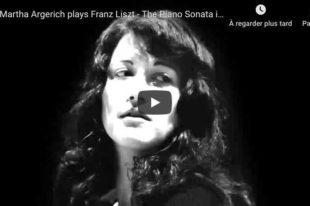 Liszt - Piano Sonata in B Minor - Martha Argerich