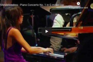 Mendelssohn - Piano Concerto No. 1 - Yuja Wang
