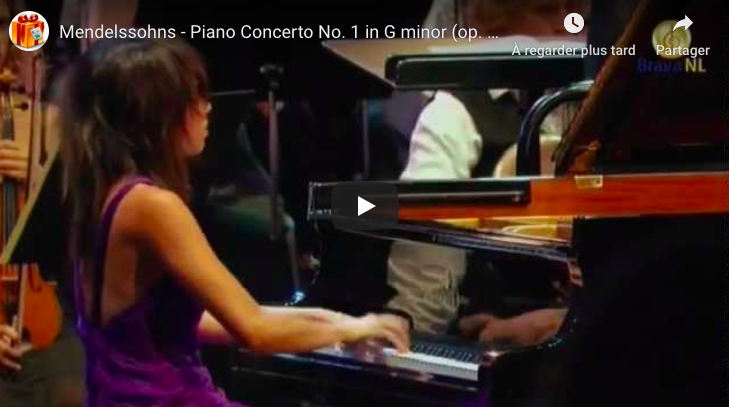 Mendelssohns - Piano Concerto No 1 - Wang, Piano