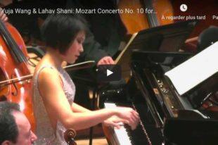 Mozart - Concerto No. 10 for 2 Pianos - Wang & Shani