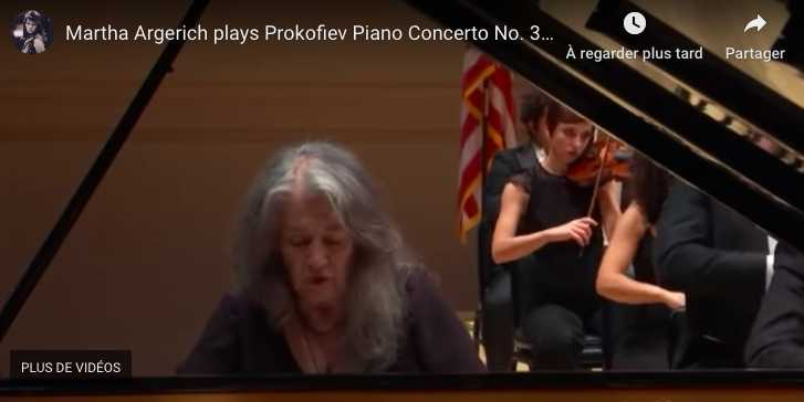 Prokofiev - Piano Concerto No 3 in C Major - Argerich, Piano