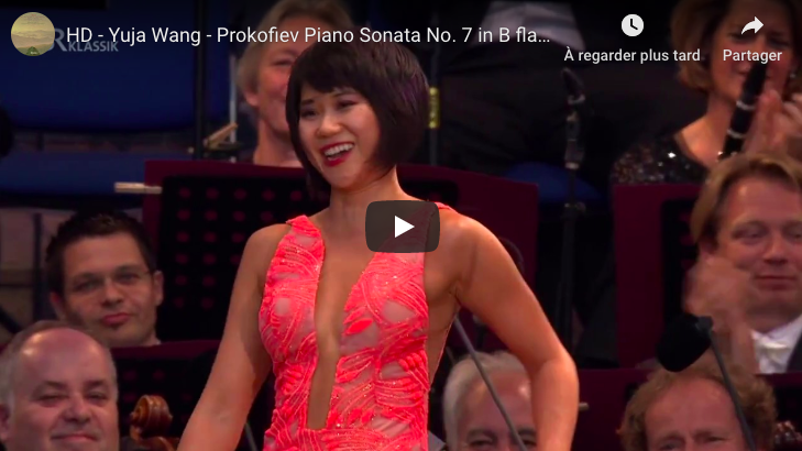 Prokofiev - Sonata No 7, 3rd movement - Wang, Piano