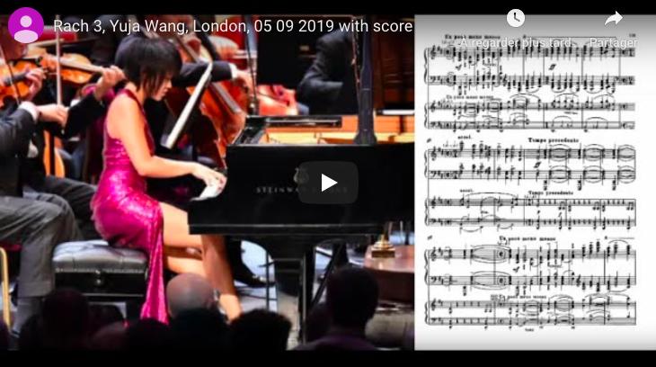 Rachmaninoff - Piano Concerto No 3 in D Minor- Wang, Piano