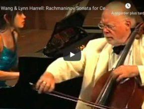 Rachmaninoff - Sonata for Cello & Piano in G Minor - Wang, Piano