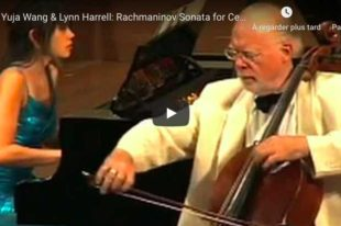 Rachmaninoff - Sonata for Cello and Piano - Wang; Harrell