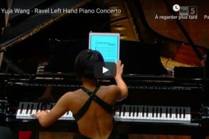 Ravel – Piano Concerto for the Left Hand – Wang, Piano