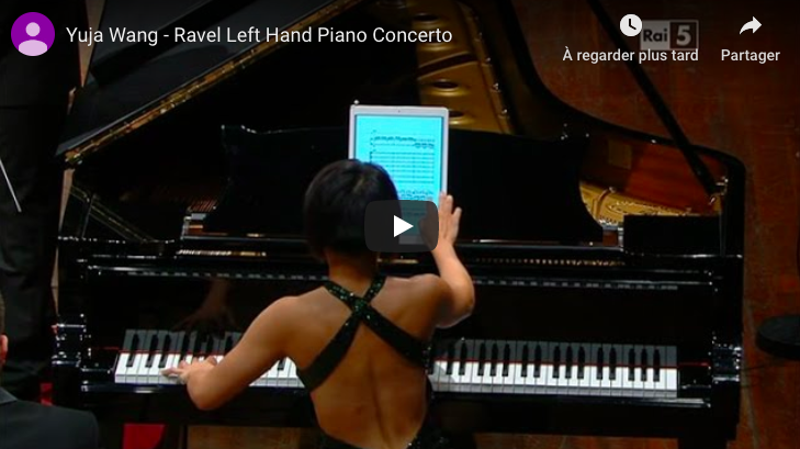 Ravel - Piano Concerto for the Left Hand - Wang, Piano