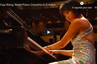 Ravel - Piano Concerto in G Major - Wang, Piano