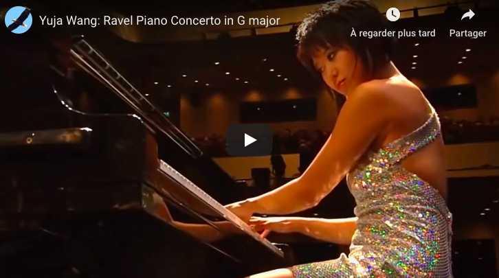 Ravel - Piano Concerto in G Major - Wang, Piano