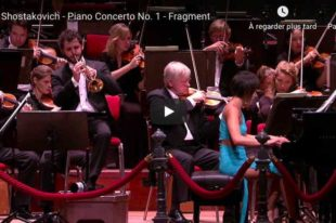Shostakovich - Concerto No. 1 for Piano and Trumpet - Yuja Wang