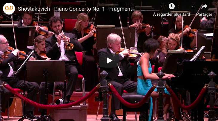 Shostakovich - Concerto for Piano and Trumpet - Wang, Piano