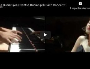 Bach - Concerto for 2 keyboards - Khatia and Gvantsa Buniatishvili