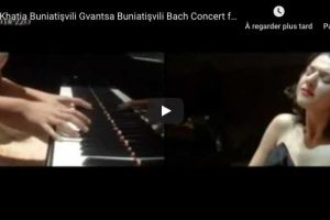 Bach – Concerto for Two Keyboards – Khatia and Gvantsa Buniatishvili