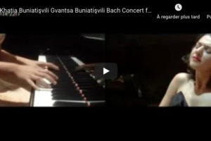Bach – Concerto for Two Keyboards in C minor – Khatia and Gvantsa Buniatishvili