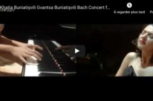 Bach - Concerto for Two Keyboards - Khatia and Gvantsa Buniatishvili