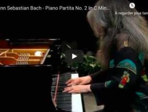 Bach - Partita No 2 in C Minor - Martha Argerich, Piano