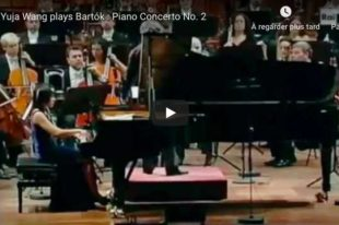 Bartok - Piano Concerto No 2 - Wang, Piano
