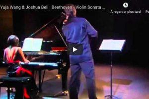 Beethoven – Kreutzer Sonata – Bell, Violin; Wang, Piano