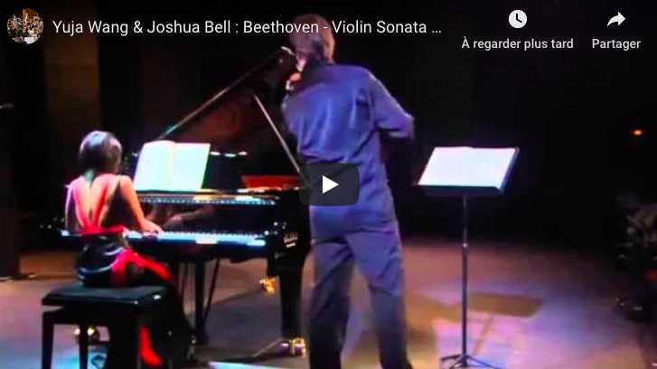 Beethoven - Kreutzer Sonata, No. 9 - Bell, Violin; Wang, Piano