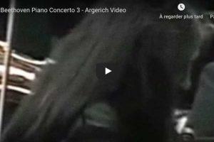 Beethoven – Piano Concerto No. 3 – Martha Argerich