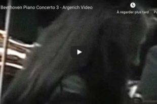 Beethoven - Piano Concerto No. 3 - Martha Argerich