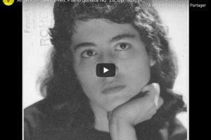 Beethoven – Piano Sonata No. 28 – Martha Argerich