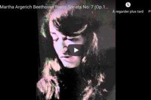 Beethoven - Piano Sonata No. 7 - Martha Argerich