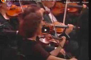 Brahms – Piano Concerto No. 2 – Khatia Buniatishvili