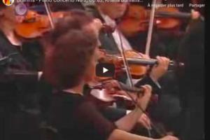 Brahms – Piano Concerto No 2 – Buniatishvili, Piano