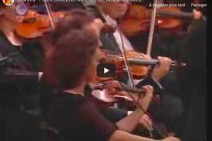 Brahms - Concerto No 2 - Buniatishvili, Piano