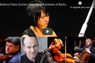 Brahms - Piano Quintet - Wang, Soloists of Berliner Philharmoniker