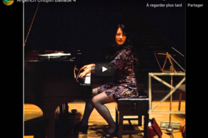 Chopin – Ballade No 4 in F Minor – Argerich, Piano