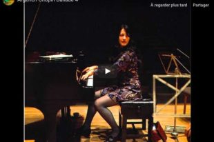 Chopin - Ballade No. 4 - Martha Argerich, Piano