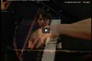 Chopin – Ballade No 4 in F minor – Buniatishvili, Piano