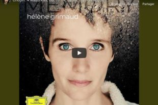 Chopin - Mazurka Op. 17 No. 4 - Grimaud, Piano