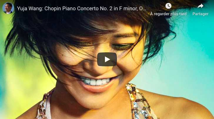 Chopin - Piano Concerto No 2 in F Minor - Wang, Piano