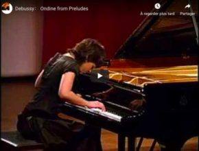 Debussy - Ondine (Prelude No 8, Book II) - Khatia Buniatishvili, Piano