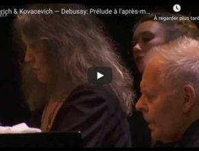 Debussy - Prelude à l'après-midi d'un faune - Argerich & Kovacevich
