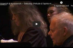 Debussy – Prelude à l'Après-midi d'un Faune – Argerich & Kovacevich