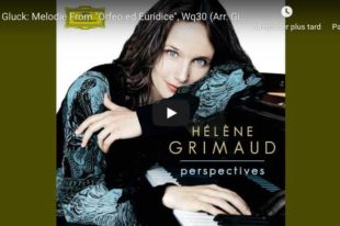 Gluck/Sgambati - Dance of the Blessed Spirits - Grimaud, Piano