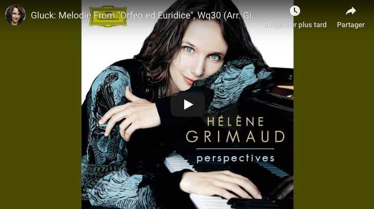 Gluck / Sgambati - Dance of the Blessed Spirits - Grimaud, Piano
