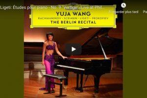 Ligeti – Vertige, Etude No. 9 – Yuja Wang, Piano