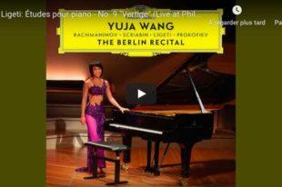 Ligeti - Etude No 9, Vertige - Wang, Piano