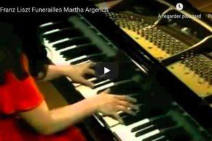 Liszt - Funerailles - Argerich, Piano