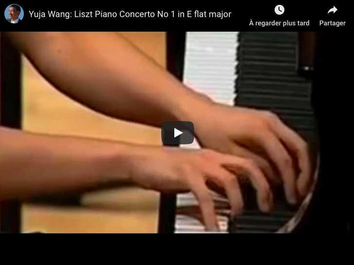 Liszt - Piano Concerto No 1 in E-Flat Major - Yuja Wang, Piano
