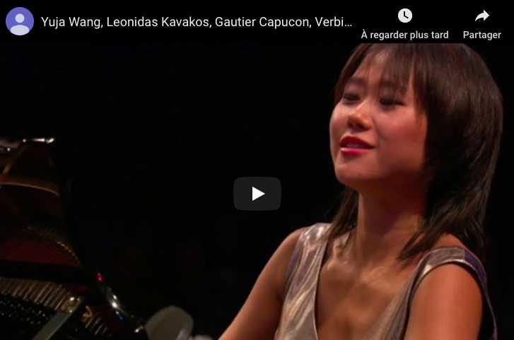 Mendelssohn - Trio No 2 - Wang, Piano; Kavakos, Violin; Capucon, Cello