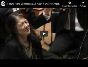 Mozart - Piano Concerto No 20 in D Minor - Martha Argerich, Piano